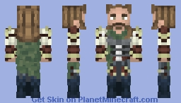 Captain Minecraft Skin