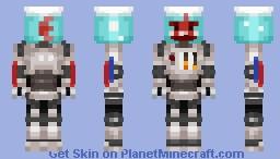 Fish-robot / Рыба-робот (request) Minecraft Skin