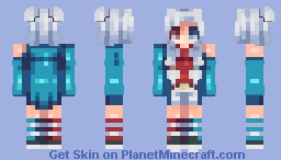 It's actually Canada day but this is a Fourth of July skin - Peri Minecraft Skin