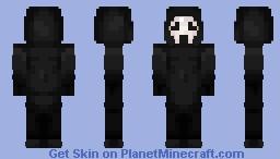 ghostface Minecraft Skin