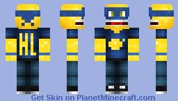 Happy Lemon Minecraft Skin