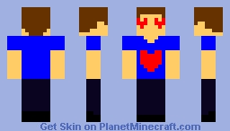 Lover Boy Minecraft Skin