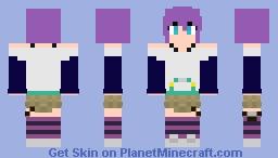 Mizore Shirayuki (Rosario + Vampire) Minecraft Skin