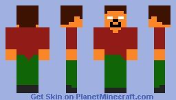 Helpful Herobrine Minecraft Skin