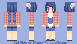 My persona Minecraft Skin