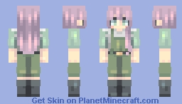 pino - ergo proxy Minecraft Skin