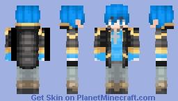 ~GalaxyKai__~ Licon Hawke Minecraft Skin