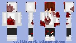~GalaxyKai__~ Tyler StoneShard (w/ Blood from loosing bet) Minecraft Skin