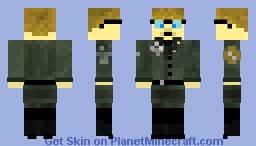 Wolfenstein: Professor Zemph Minecraft Skin