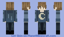 Moon Minecraft Skin