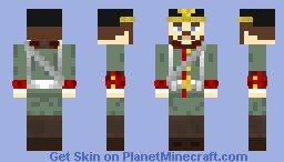 German WW1 Uniform Minecraft Skin