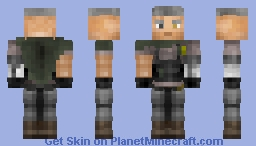Deadpool 2 - Cable // Avengers Craft Skin Minecraft Skin