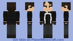 Robbie Reyes - Ghost Rider Minecraft Skin