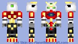JDG-00X Dark Gundam || G Gundam || Skin Remake Minecraft Skin