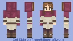 Uraraka Ochako Fantasy AU Minecraft Skin