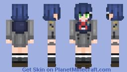 Ichigo CODE '015' Minecraft Skin