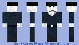 miner that haunts minecraft cemetary Minecraft Skin