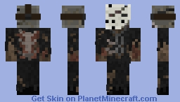 Friday The 13th Part 7: A New Blood - Jason Voorhees Minecraft Skin
