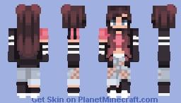 ★𝕮𝖍𝖊𝖊𝖗𝖎𝖔𝖔𝖘★ Bubblegum Minecraft Skin