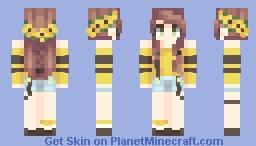 ✧SunFlower✧ Minecraft Skin