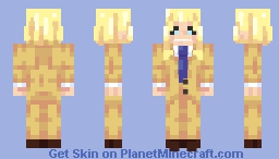 Meddling when you don't need to is the essence of being a hero. - Toshinori Yagi - BNHA Minecraft Skin