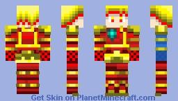 Z Achilles in Human from 米ブレ度超絶 Beyblade Super Z Minecraft Skin