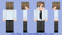 Jim Halpert | The Office US Minecraft Skin
