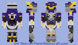 Saber codename - Storm Minecraft Skin