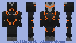 Legendary Omega Minecraft Skin