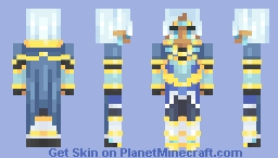 Lance of Altea Minecraft Skin