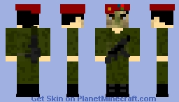 Azerbaijan Army Commando /azərbaycanlı komando  - karabkah conflict 2018 Minecraft Skin