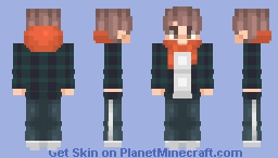 Rap Monster (Kim Namjoon) - BTS - Spring Day Outfit Minecraft Skin