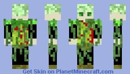 Corrupter of Worlds Tanzu Minecraft Skin