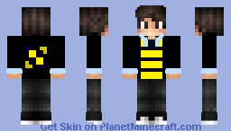 Masonskywalker12's Custom Hufflepuff Skin Credit to dino Minecraft Skin