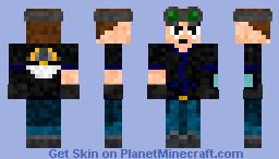 New JamesTDG Skin Minecraft Skin
