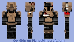 AR500 Galactac Desert Ballistic Armor Minecraft Skin