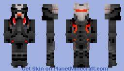 Omega - Fortnite BR | BigMikeFTW Minecraft Skin