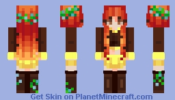 ~✿~ Foxball the cutiepatootie || Request Minecraft Skin
