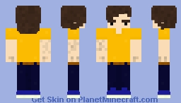 from the outside Minecraft Skin