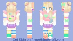 harajuku girl 🍬 Minecraft Skin