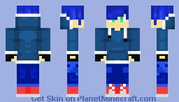 Human Sonic from Sonic Forces™ [FANMADE] Minecraft Skin