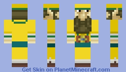 Wind Waker Lenzo Minecraft Skin