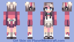 the royal maid Minecraft Skin