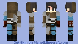 ☯ 𝒿𝓊𝓈𝓉𝒸𝓇𝓮𝓈𝓉 ☯ The Mercenary - Medieval Kingdom Skin Collection Minecraft