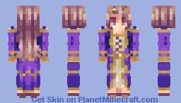 """No father, I don't want to marry him"" - Medieval Skin Collection Minecraft Skin"
