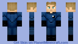 The Human Torch (2005) Minecraft Skin