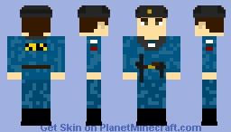 OMON - Russian Special Police - ОМОН специальная полиция Minecraft Skin