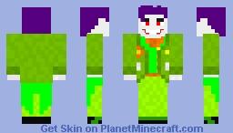 The Jokester [Earth-3] Minecraft Skin