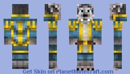 Genn Greymane - WoM #3 Minecraft Skin