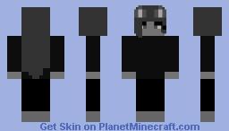 Grayscale Minecraft Skin